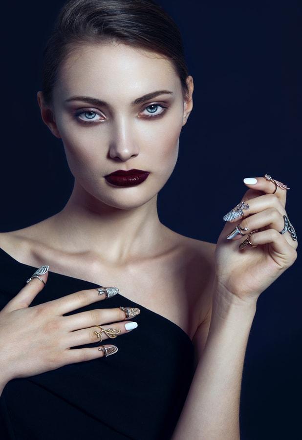 MILUSI Firenze gioielli argento nail ring FOTO CAMPAIGN